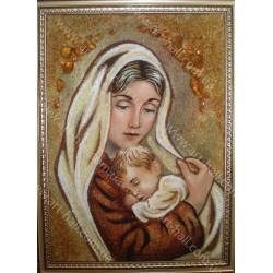 Икона Божия Матерь и Иисус