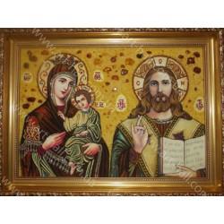Икона Иисус, Божия Матерь