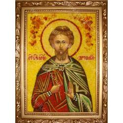 Іменна ікона святого мученика Артемія