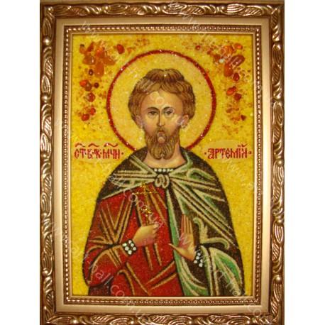 Именная икона святого мученика Артемия