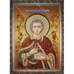 Именная икона Святого Пантелеймона