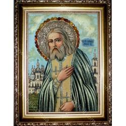 Именная икона Святого Серафима