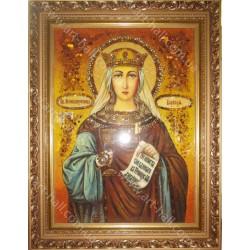 Именная икона святой Варвары