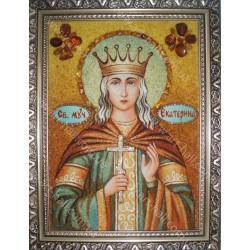 Именная икона Святой Екатерины