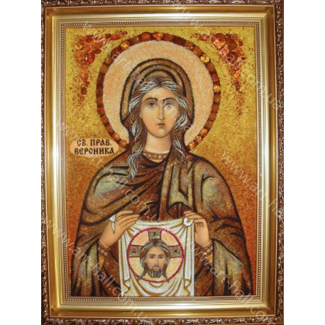 Именная икона Святой Праведной Вероники