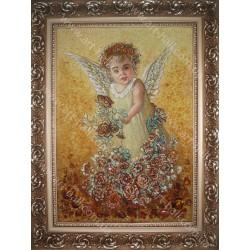 Ангел в цветах
