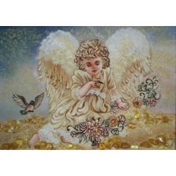 Ангелочек и птички
