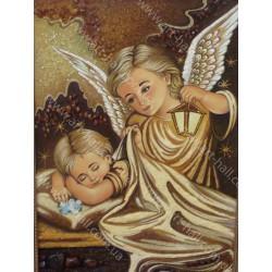 Ангелочек и сон младенца