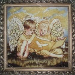 Картина Янголятка з книгою