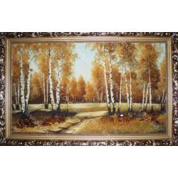 Картина Березовий ліс