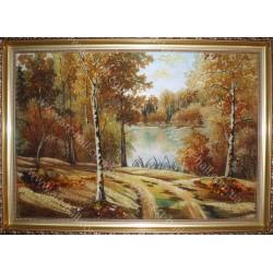 Картина Дорога в лісі