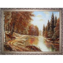 Картина Дорога у реки