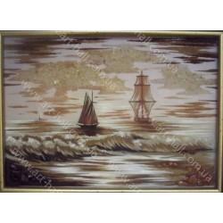 Картина Вітрильник на морі