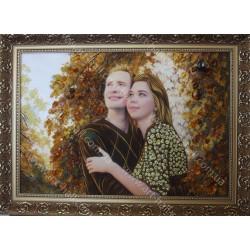 Картина влюблённой пары