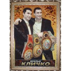 Портрет братьев Кличко