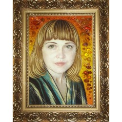Портрет дівчини з бурштину