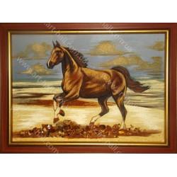 Картина Бег лошади