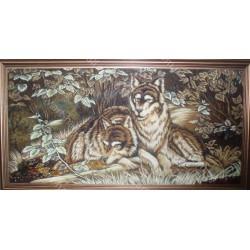 Картина Волк и волчица