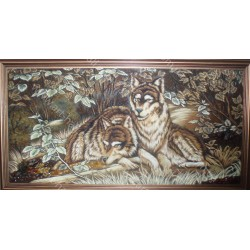Картина Вовк і вовчиця