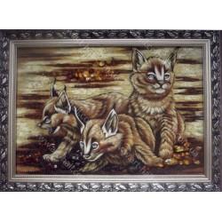 Картина лисичек (феников)