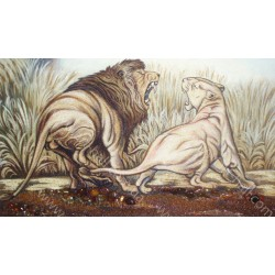 Картина з левами