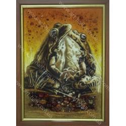 Картина с лягушками