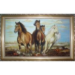 Картина Стадо лошадей