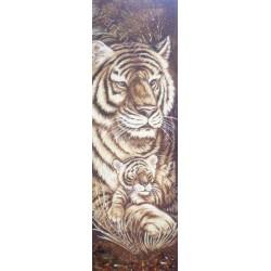 Картина Тигр и тигрёнок
