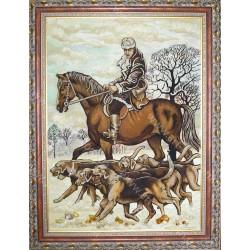 Картина Охотник на коне