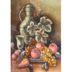 Картина Натюрморт Графин и фрукты