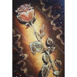 Картина Натюрморт Красная роза