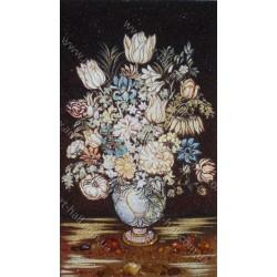 Картина Натюрморт з вазою квітів