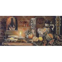 Картина Натюрморт Стола с фруктами