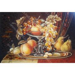 Картина Натюрморт Фрукты на подносе