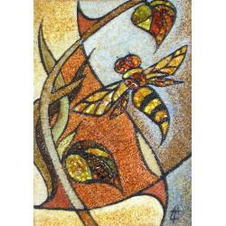 Картина Панно с осой