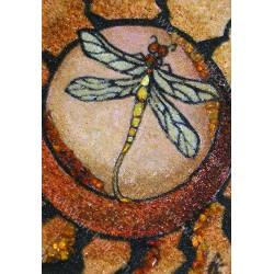 Картина Панно с янтарной крошки