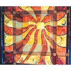 Картина Панно бурштину