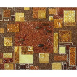 Картина Янтарное панно