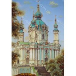 Картина Андреевская церковь
