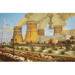 Картина Кузнецовской АЭС