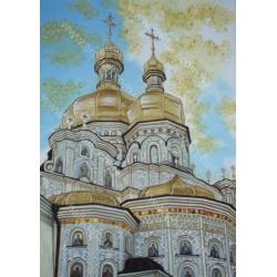 Картина Киево-Печерская лавра
