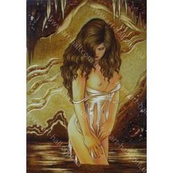 Картина Девушка у воды