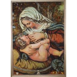 """Икона Божия Матерь """"Кормящая"""" и Иисус"""
