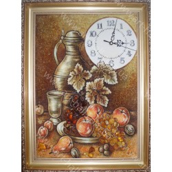 Сувенир Часы из янтаря