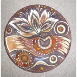 Декоративная тарелка ручной работы