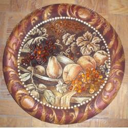 Тарелка с натюрмортом