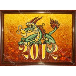 Картина Дракон Нового року