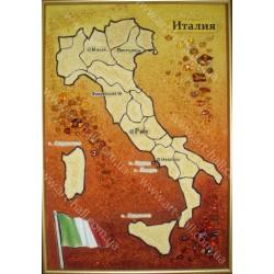 Картина Карта Италии