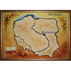 Картина Карта Польши