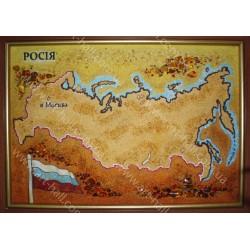 Картина Карта Росії